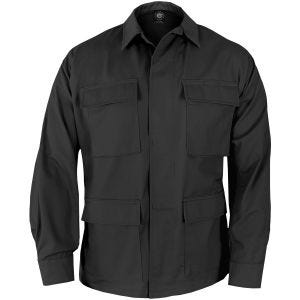 Propper Uniform BDU Coat Polycotton Ripstop Black
