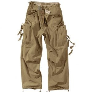 Surplus Vintage Fatigues Trousers Coyote