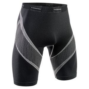 Tervel Optiline Running Shorts Black/Light Grey
