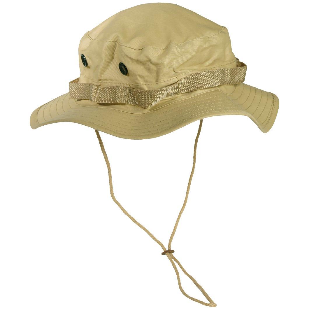 ff1c29f102f Mil-Tec GI Boonie Hat Khaki