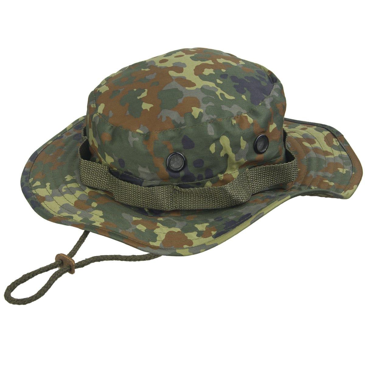 d9cdbc2c98c Mil-Tec GI Boonie Hat Flecktarn