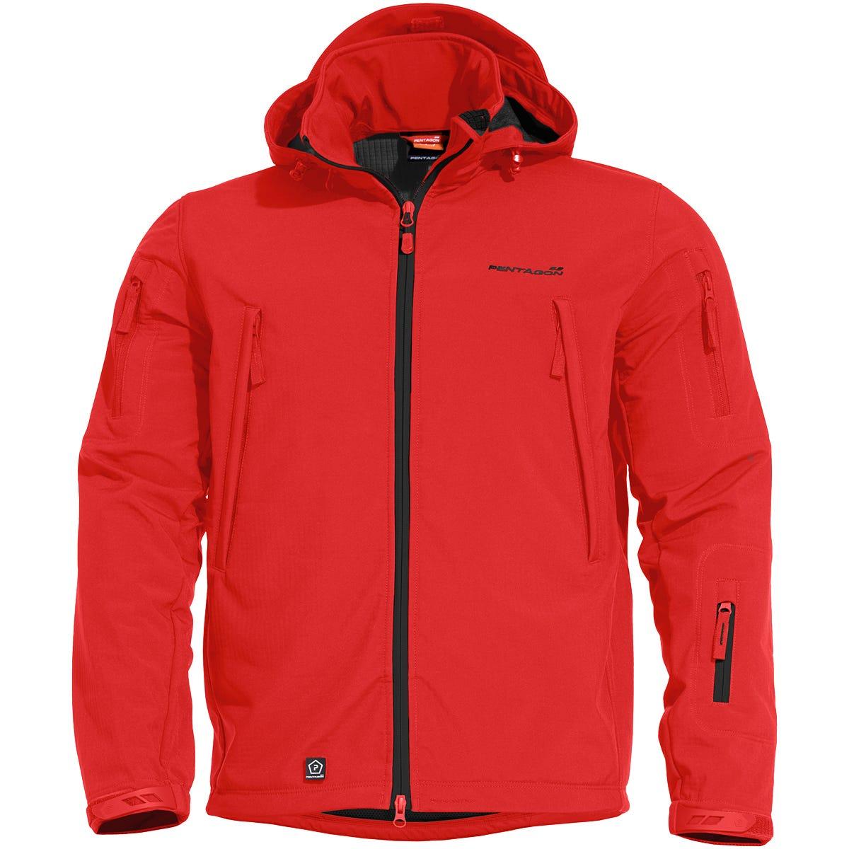 745b5cb00e7496 Pentagon Artaxes Escape Softshell Jacket Red